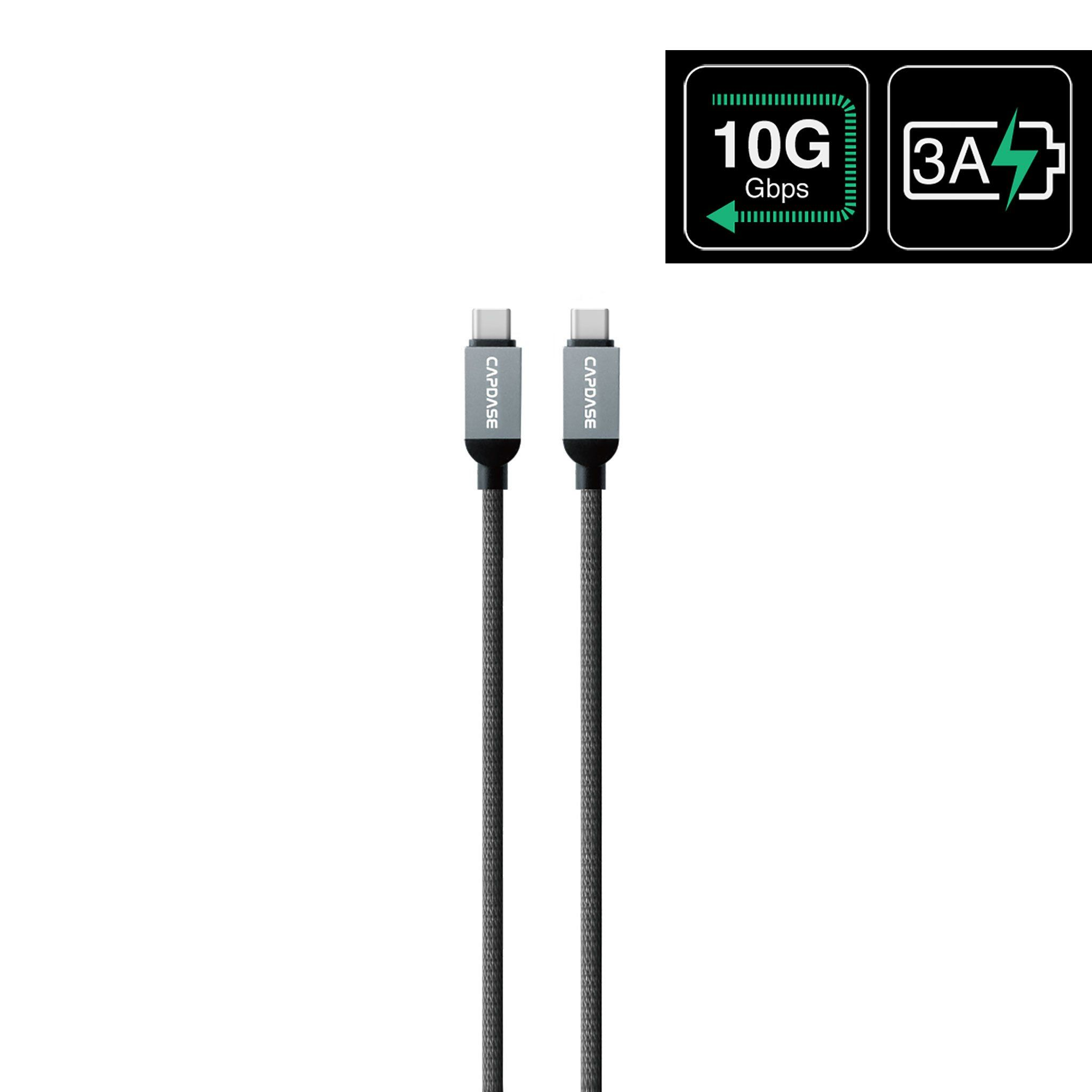 Metallic Cc10g Usb C To Usb C Sync And Charge Cable 1m 10 Gbps Portable External Hard Drive Usb Cable