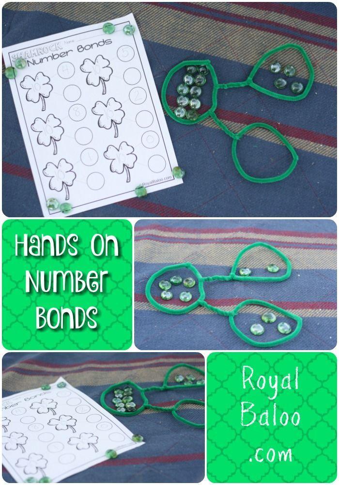Hands On Number Bonds for St Patricks Day | KBN St. Patrick\'s Day ...