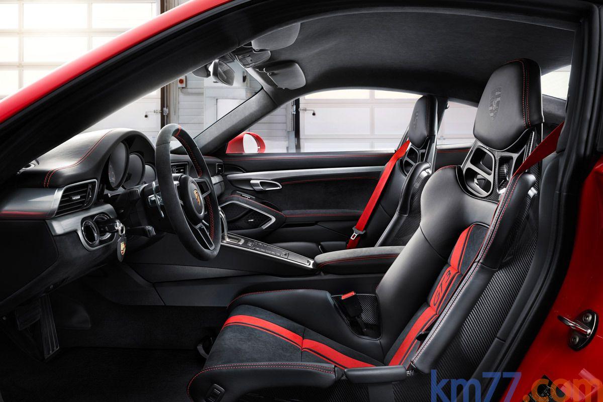 km77.com - Porsche 911 GT3 GT3 Coupé Interior Asientos 2 puertas