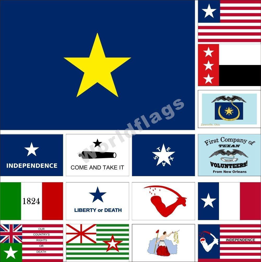 Details About Usa Texas Revolution Flag 3x5ft De Zavala Alamo 1824 Dodson Navy Goliad Grande Texas Revolution Come Take It Revolution