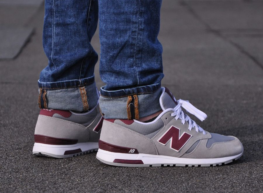 New Balance 565 - Grey - Burgundy - SneakerNews.com   Sneakers ... 6f3cb6fef9b
