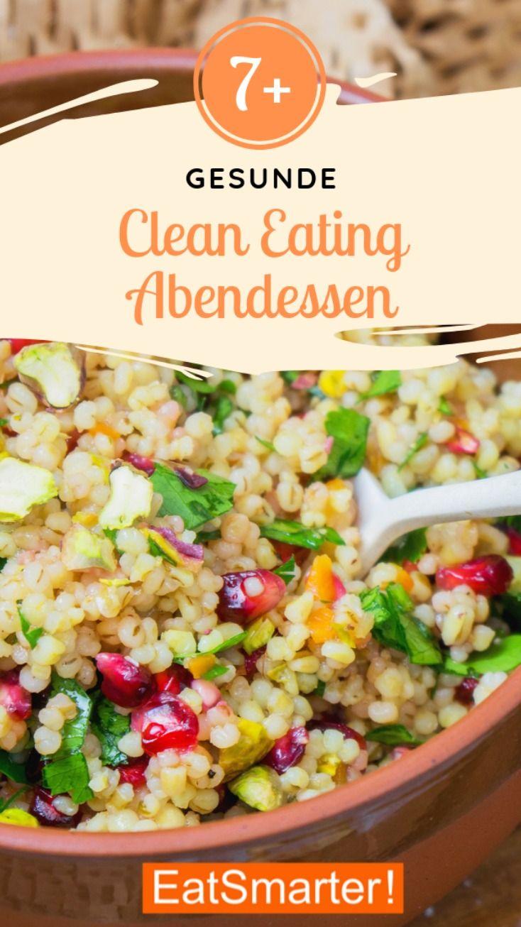 Gesunde Clean-Eating-Abendessen