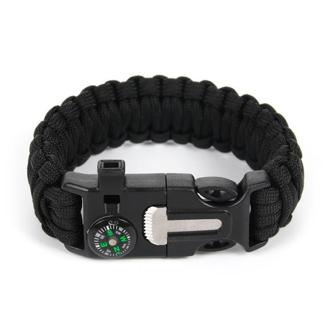 Braided Bracelet Men Paracord Survival Bracelet Outdoor Camping