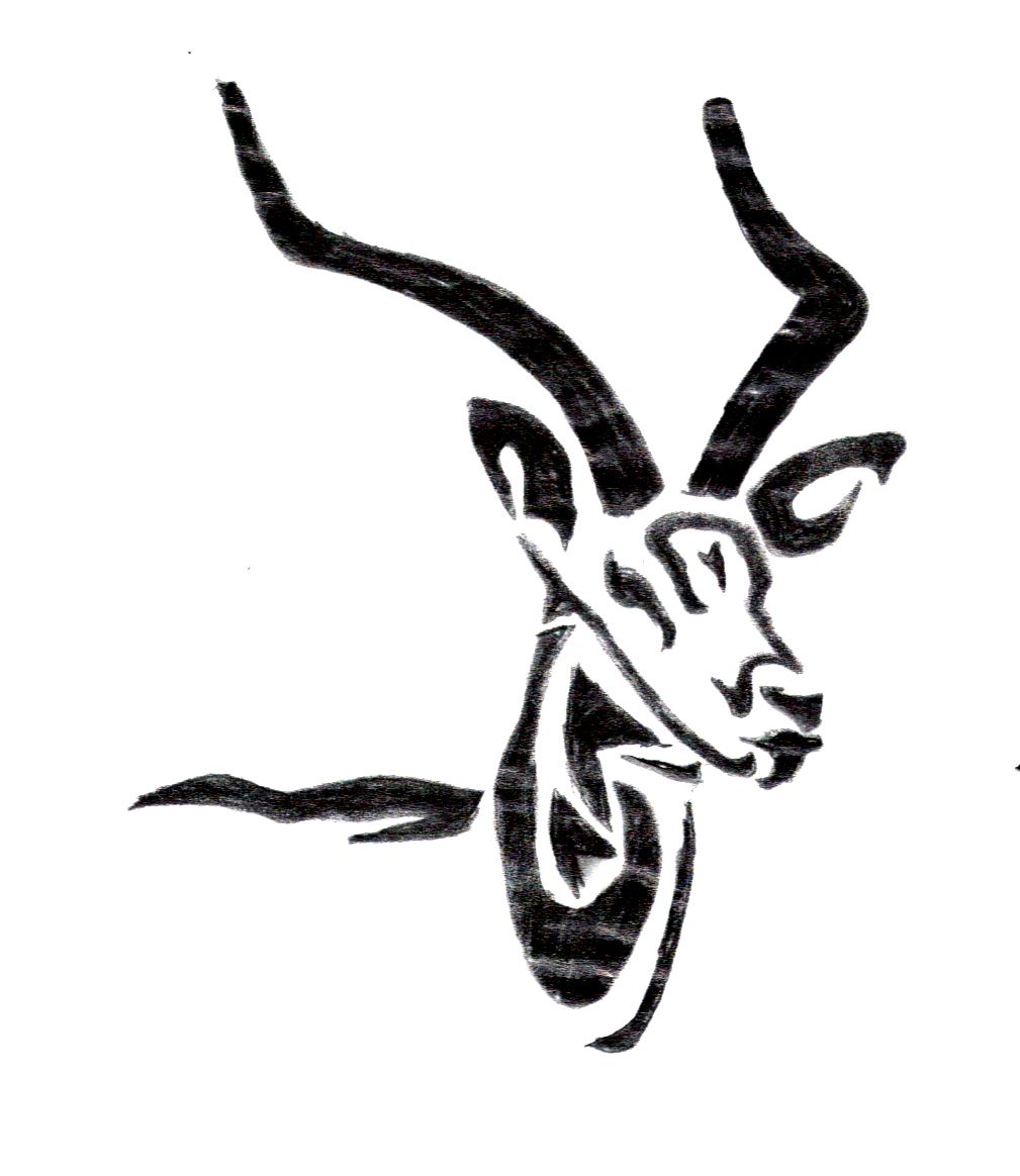 Gazelle tattoos tribal tattoos tattoos et tribal art - Gazelle dessin ...
