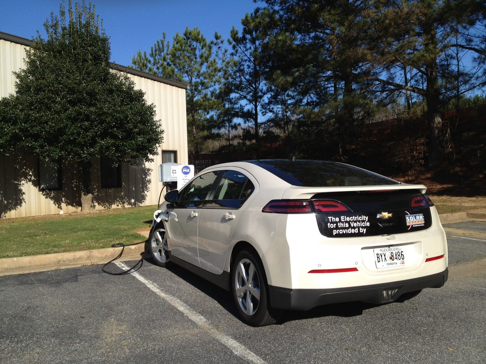 Solar Energy Usa S Own Chevy Volt Chevy Volt Electric Cars Chevy