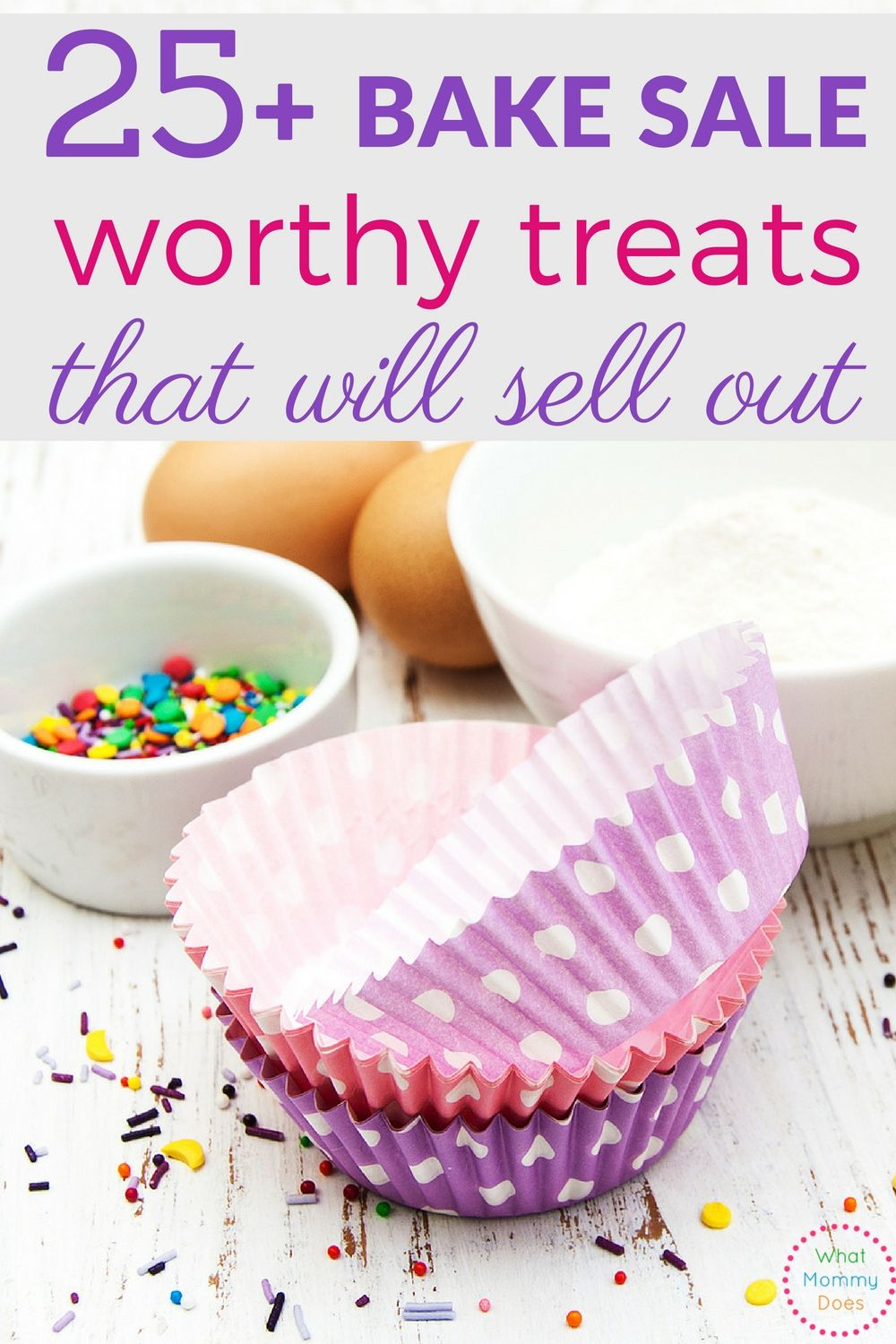 25 bake sale treats that will sell out | food & drink | pinterest