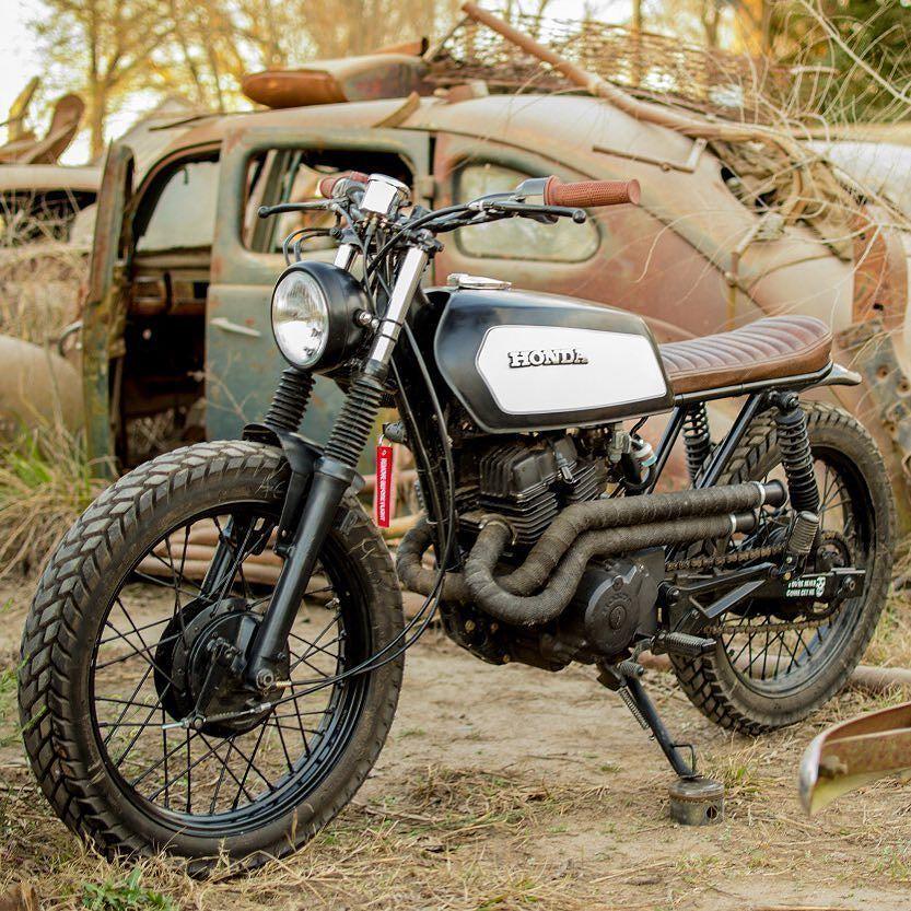 On BikeBound.com: '94 Honda CB250 Nighthawk #scrambler  by Mati Aguirre of Argentina! Link in Profile