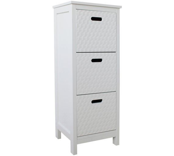 Superior Buy HOME Fareham 3 Drawer Storage Unit   White At Argos.co.uk,