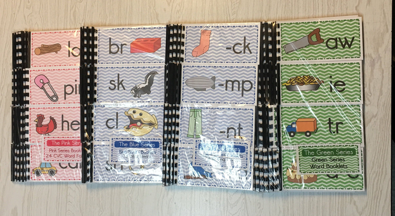The Green Series Montessori 36 Phonograms Booklets