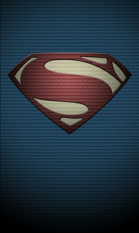 Man Of Steel Phone Wallpaper I Did In PhotoShop