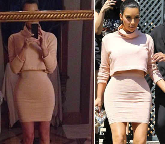 Instagram photos that were photoshopped by various celebs. Watch out for those wavy lines, guys!
