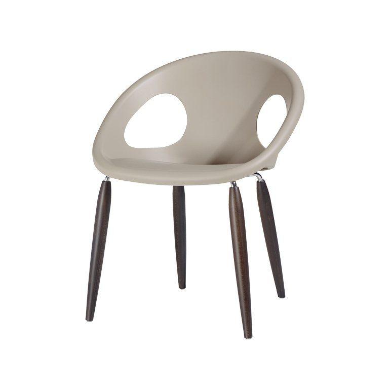 Salesfever Designer Stuhl Mit Holzbeinen Natural Drop Stuhl