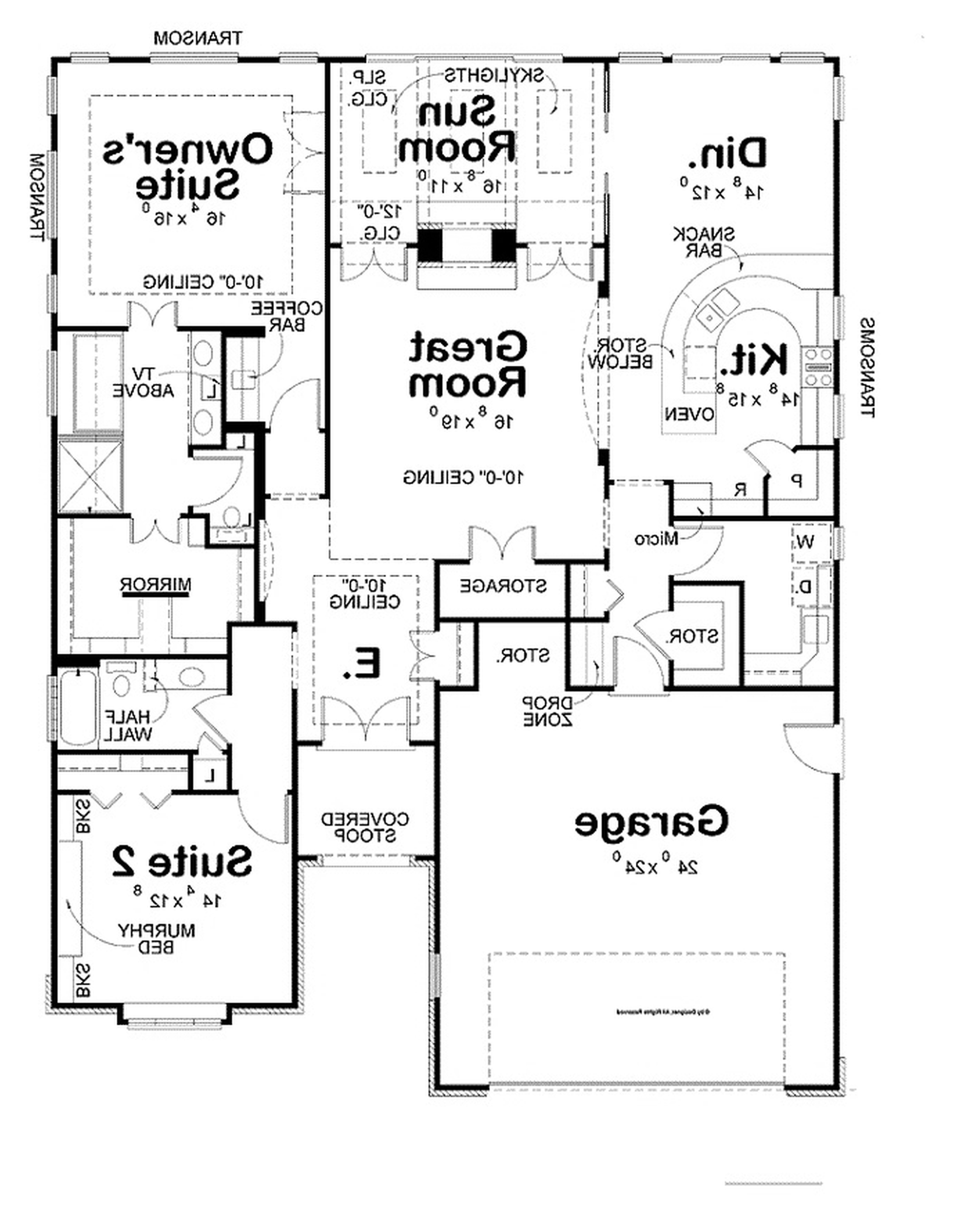 rectangular house floor plans design bedroom ranch house plans