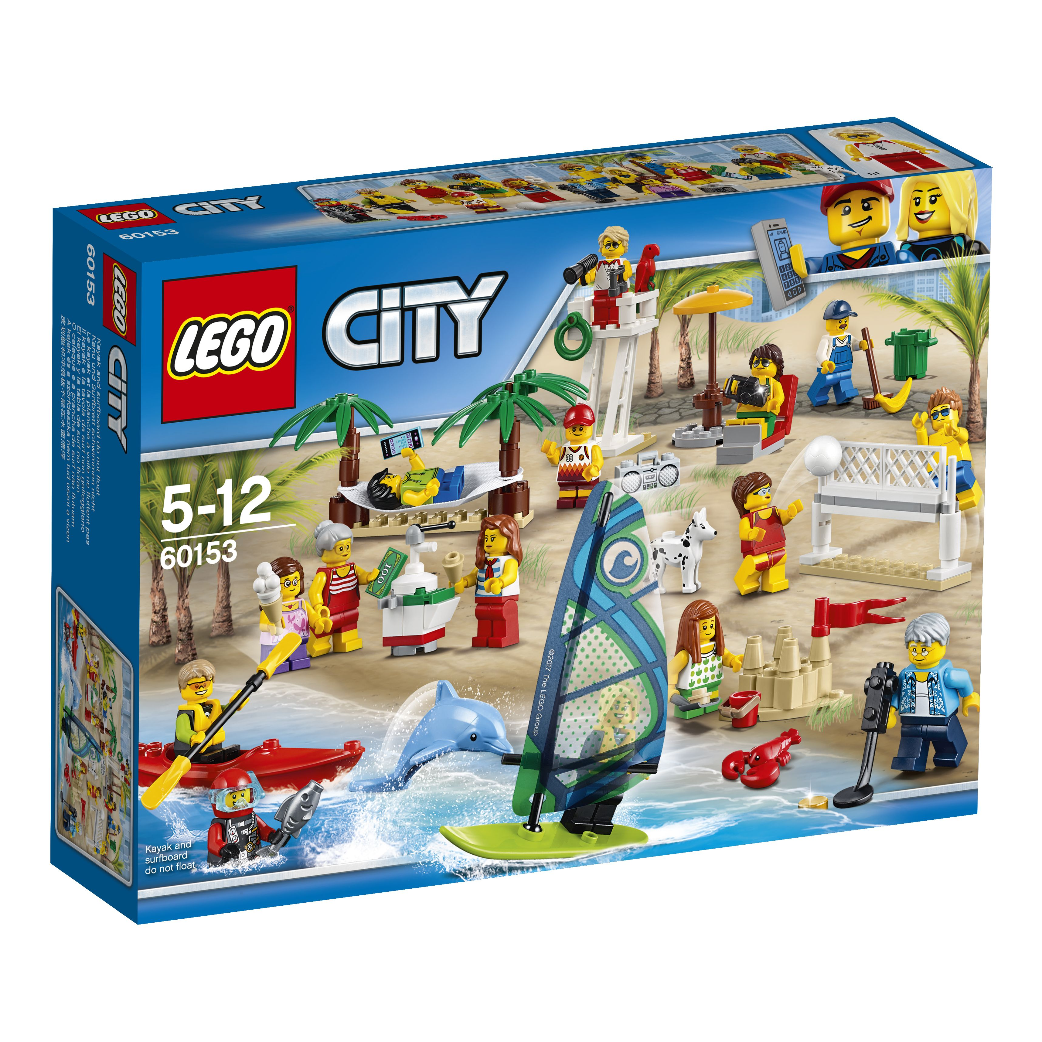 Pin lego 60032 city the lego summer wave in official images on -  Lego Lego 60153 Lego City Stadtbewohner Ein Tag Am Strand Alter