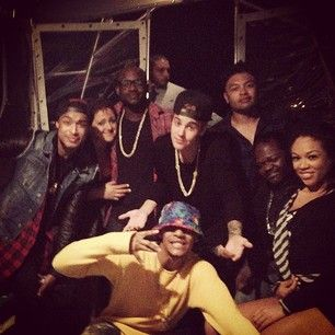 Justin Bieber and friends