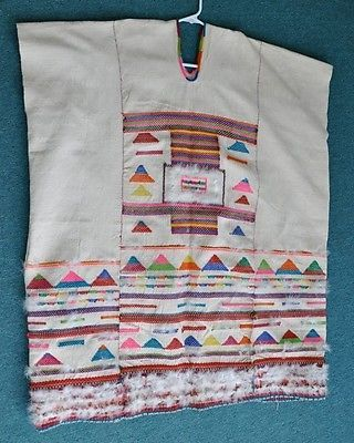 Authentic-Vintage-Wedding-Huipil-from-Zinacantan-in-Chiapas-Mexico