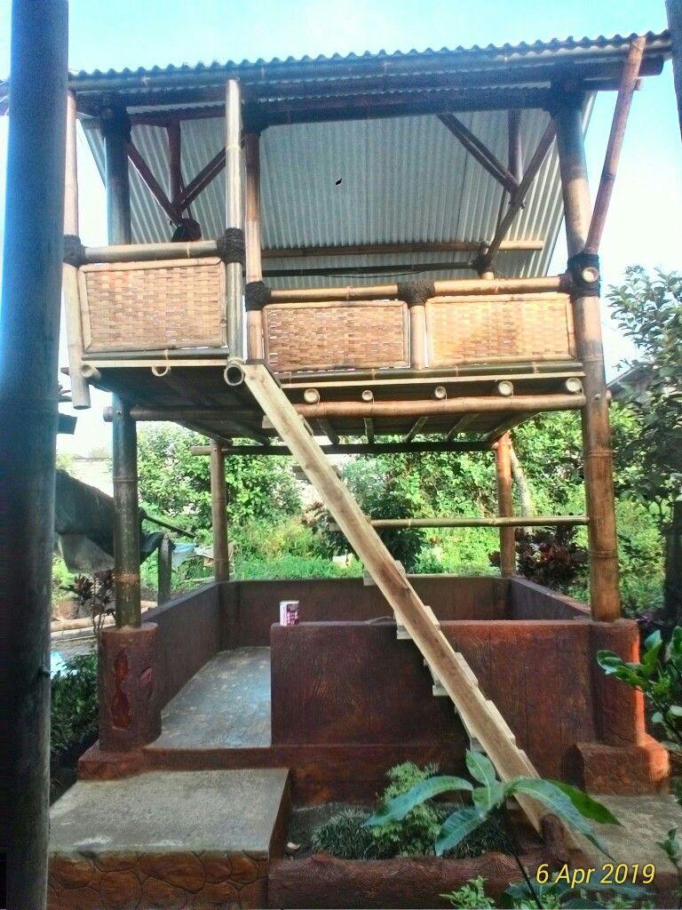 Pin Oleh Endik Mulya Di Kerajinan Bambu