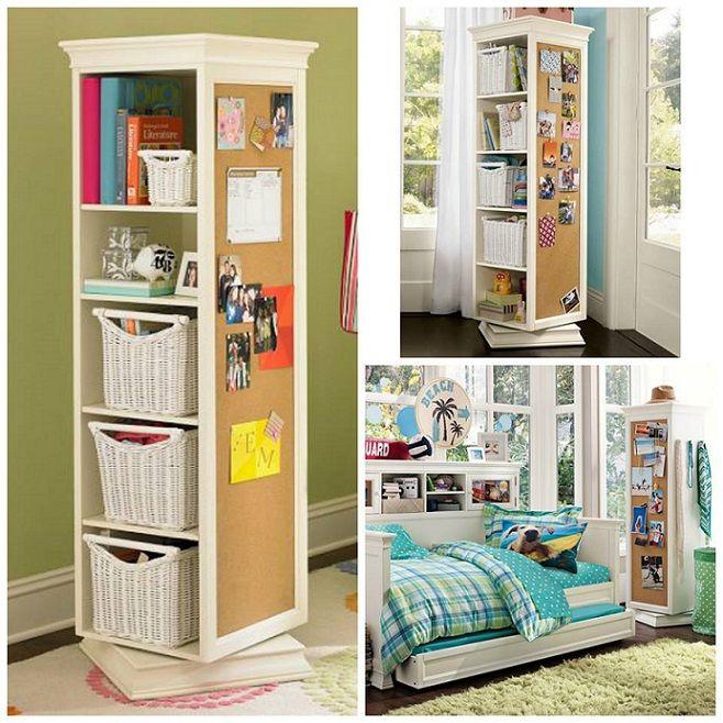Elegant Rotating Storage Unit Plans   For My Craft Room   I Would Put Peg Board On