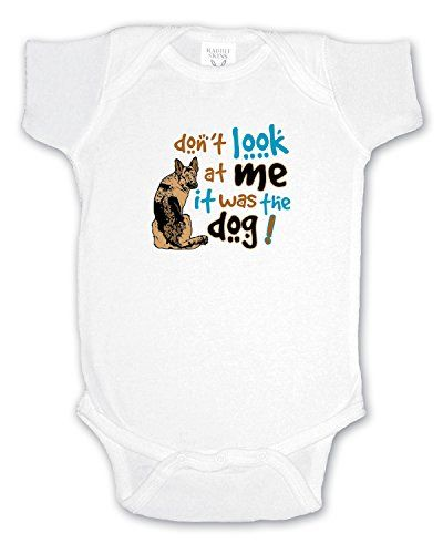 I Love My German Shepherd Dog Infant Baby Girl Boy Bodysuit Jumpsuit Short Sleeved Bodysuit Tops Clothes