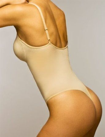 e0f378eb6 The Body Wrap Thong Bodysuit w  Underwire Style 44015 - Nude - Small Body  Wrap.  78.00