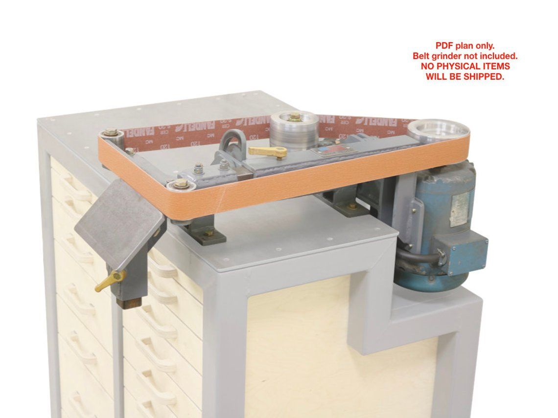 2x72 Quot Belt Grinder Plans Diy In 2019 Belt Grinder