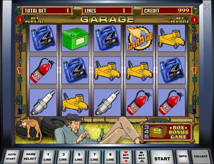Игровые аппараты гараж бесплатно партнерка игровые автоматы