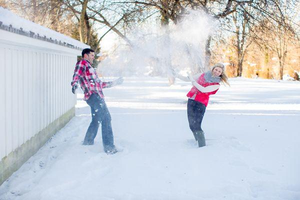 Engagement Session: Lauren and Justin | Engagement Session | Washingtonian