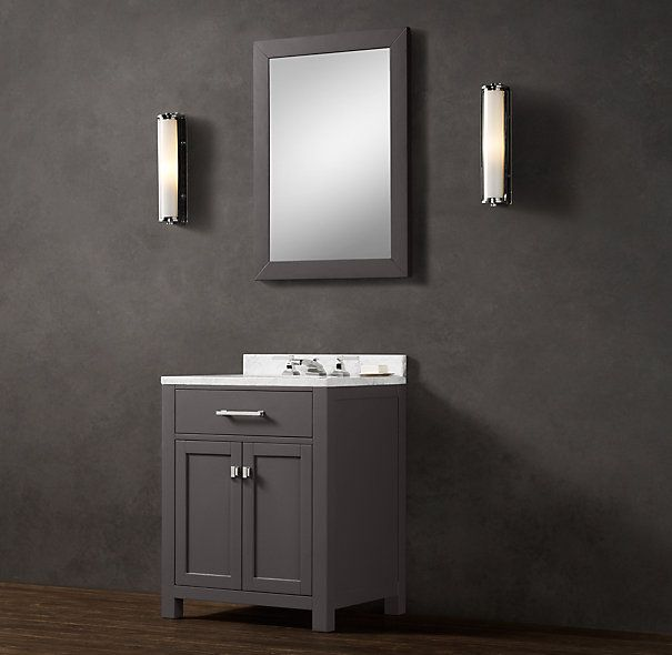 Powder room vanity - in obsidian?