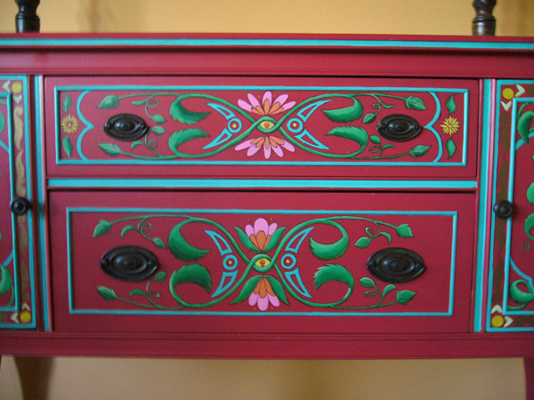 Mexican Painted Furniture Painted Furniture Mexican Furniture