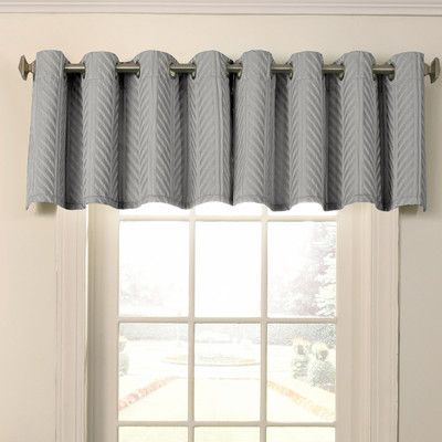 Beautyrest Malbrouk Blackout Grommet 52 Window Valance Valance