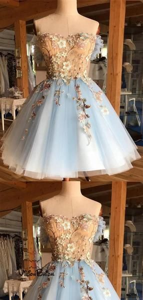 Classy Off Shoulder Homecoming Dresses With Appliques, Homecoming Dresses, VB02430 -   15 dress Beautiful classy ideas