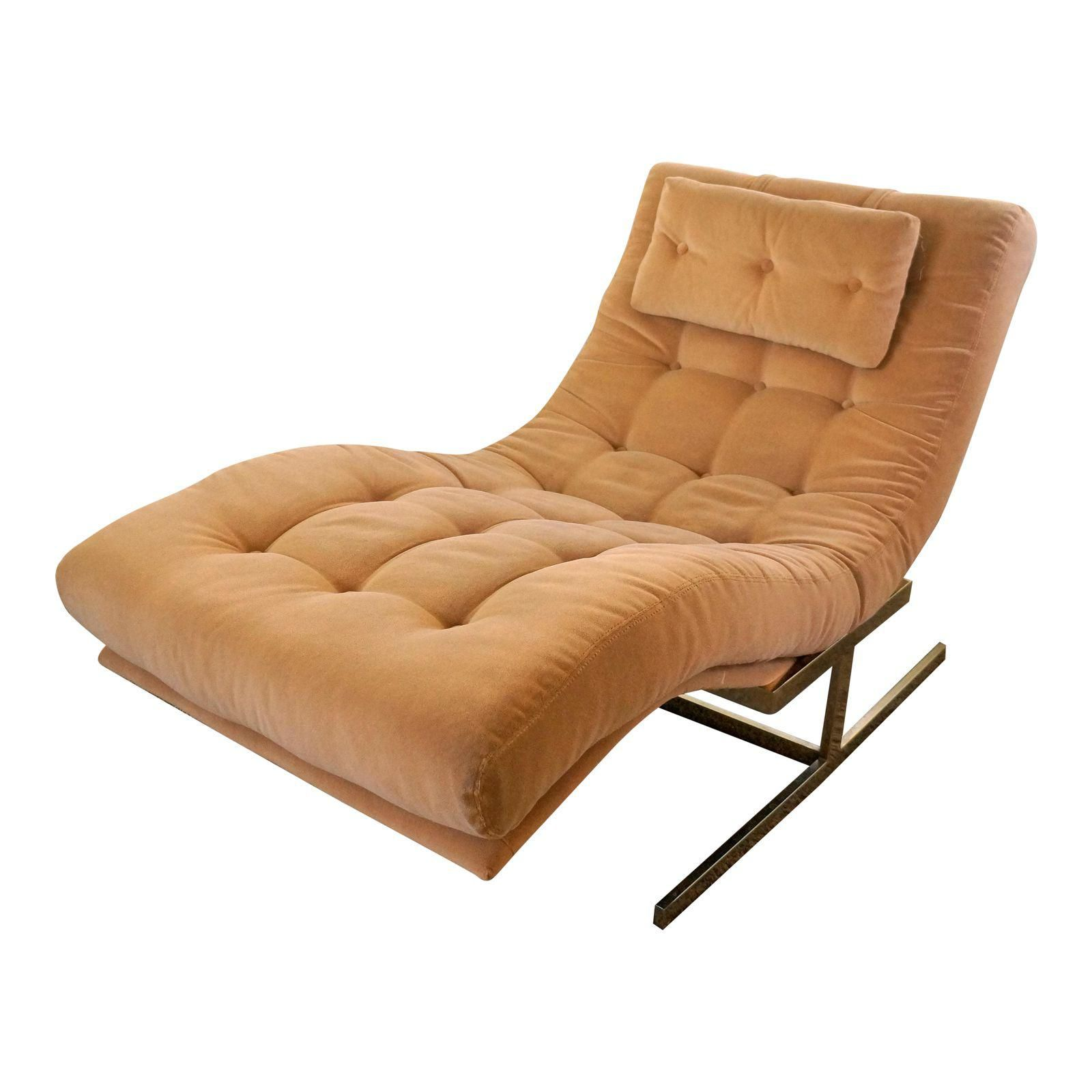 Mid Century Modern Milo Baughman Wave Lounge Chair Image 1 Of 5