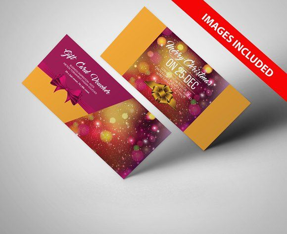 Christmas Gift Voucher Templates Psd templates, Template and Adobe - christmas gift vouchers templates