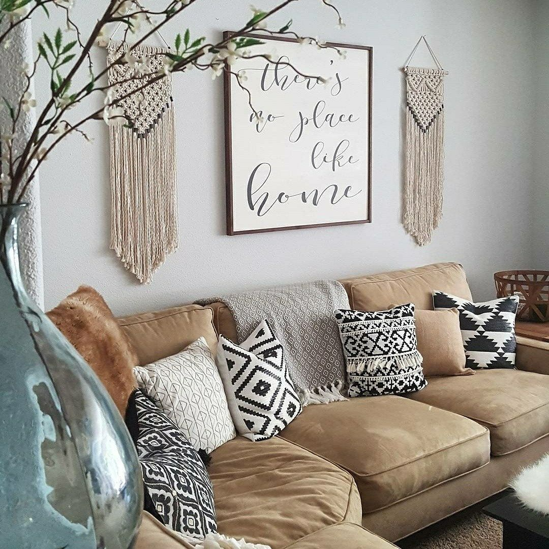 Beautiful Way To Style Our 100 Cotton Rope Macrame Panels T