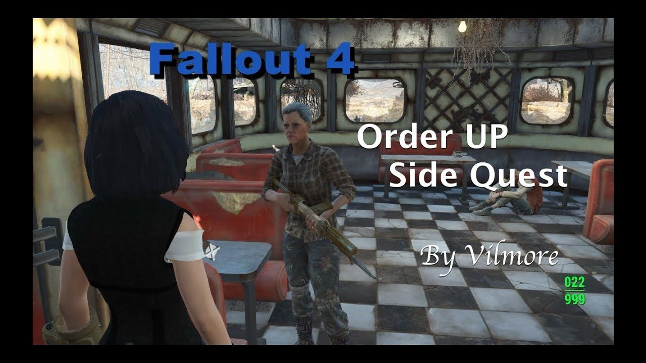 Fallout 4 Order Up Side Quest Peaceful Resolution Fallout Facts Fallout Order Up