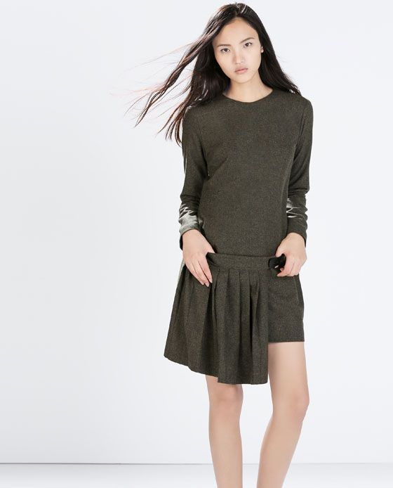Image 2 of PLEATED DRESS from Zara   fashion    Pinterest   Dresses ... e7c92e36c77
