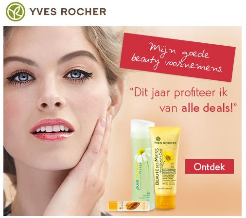 Yves rocher geburtstagsgeschenk gratis