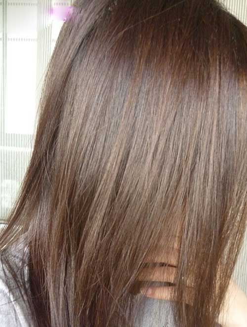Beautiful Base Colour For Soft Summer Ash Brown Hair Color