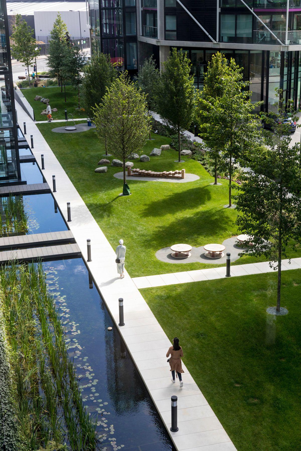 Riverlight London UK Gillespies Architect House, Architect ...