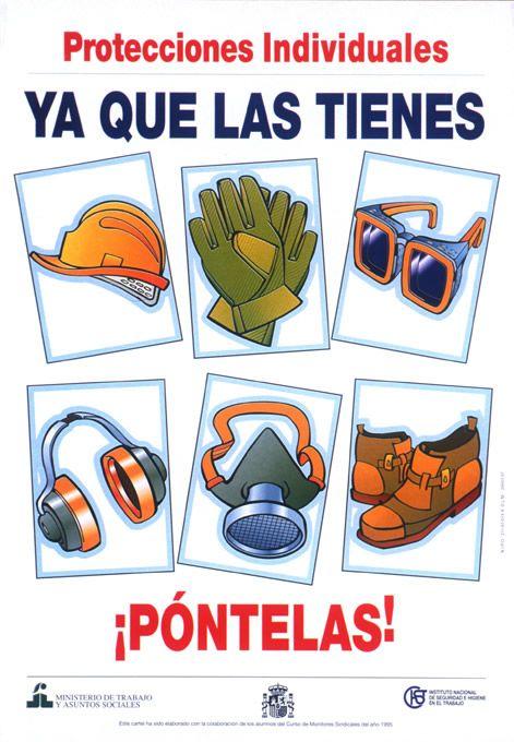 Proteccion Higiene Y Seguridad En El Trabajo Frases De Seguridad Carteles De Seguridad