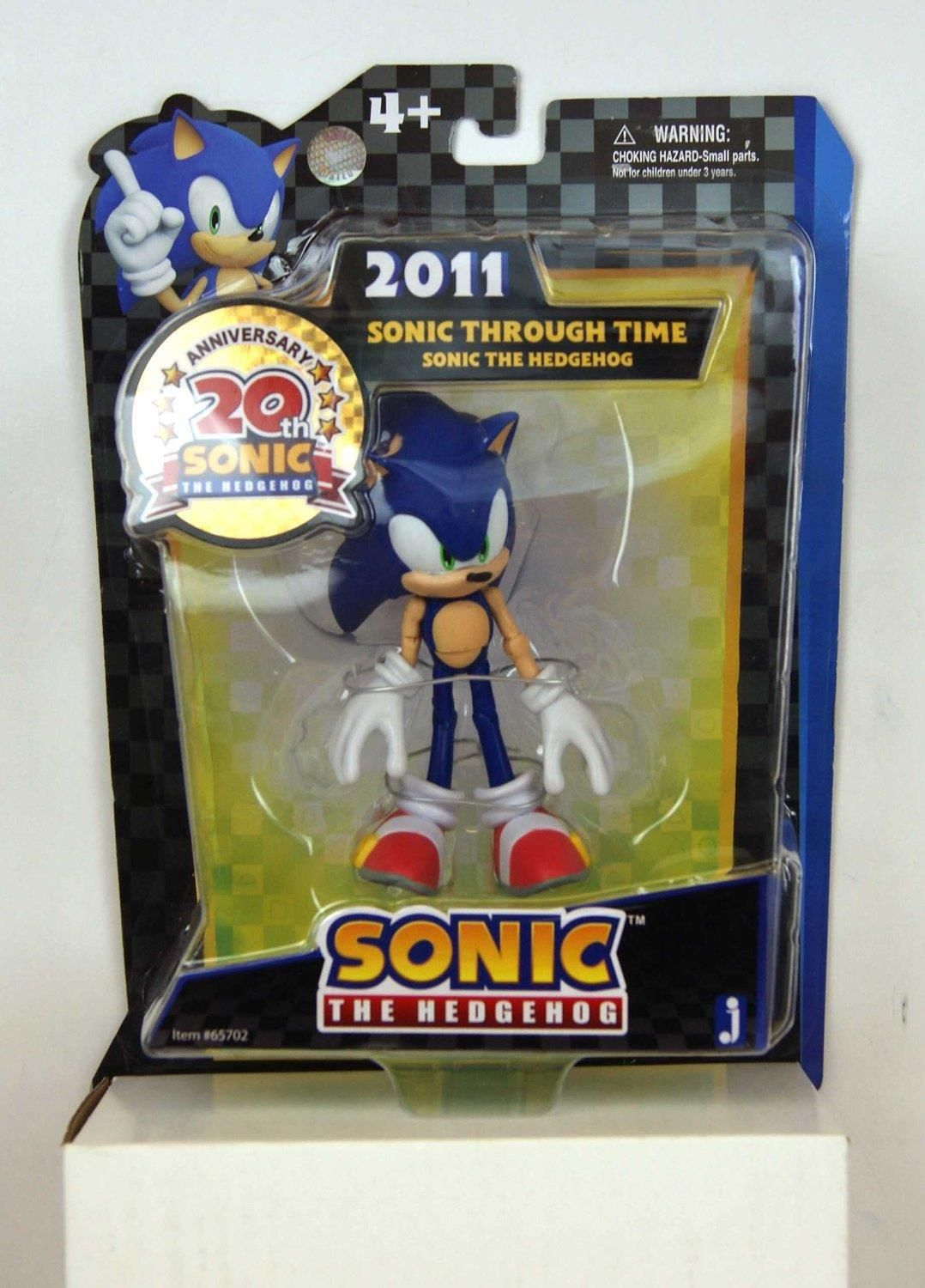 Sonic The Hedgehog 2011 Action Figure 13cm Manufacturer Jazwares Enarxis Code 012736 Toys Figures So Action Figures Sonic The Hedgehog Sonic Birthday