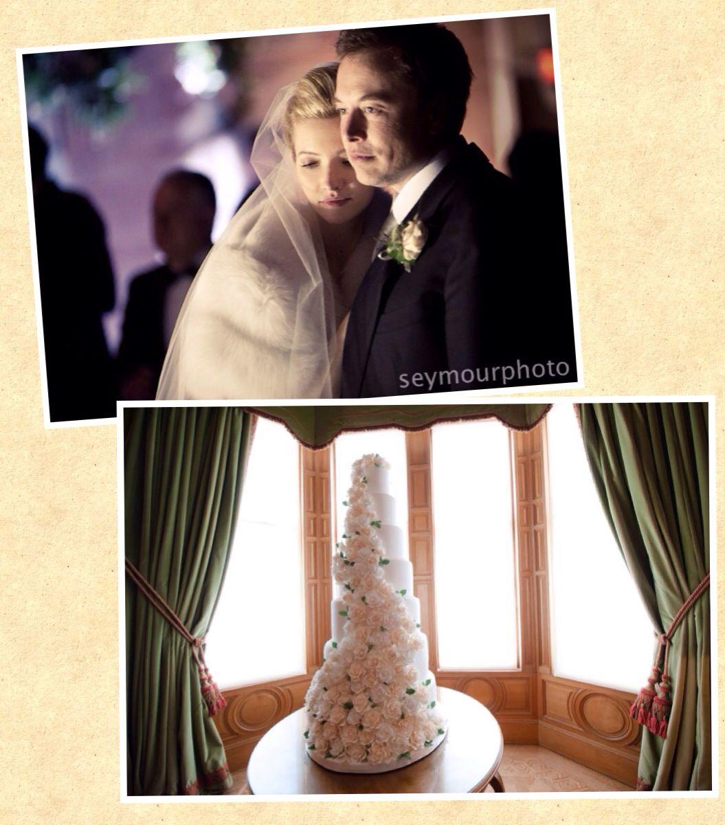 Talulah Riley and Elon Musk wedding cake | Famous Wedding Cakes