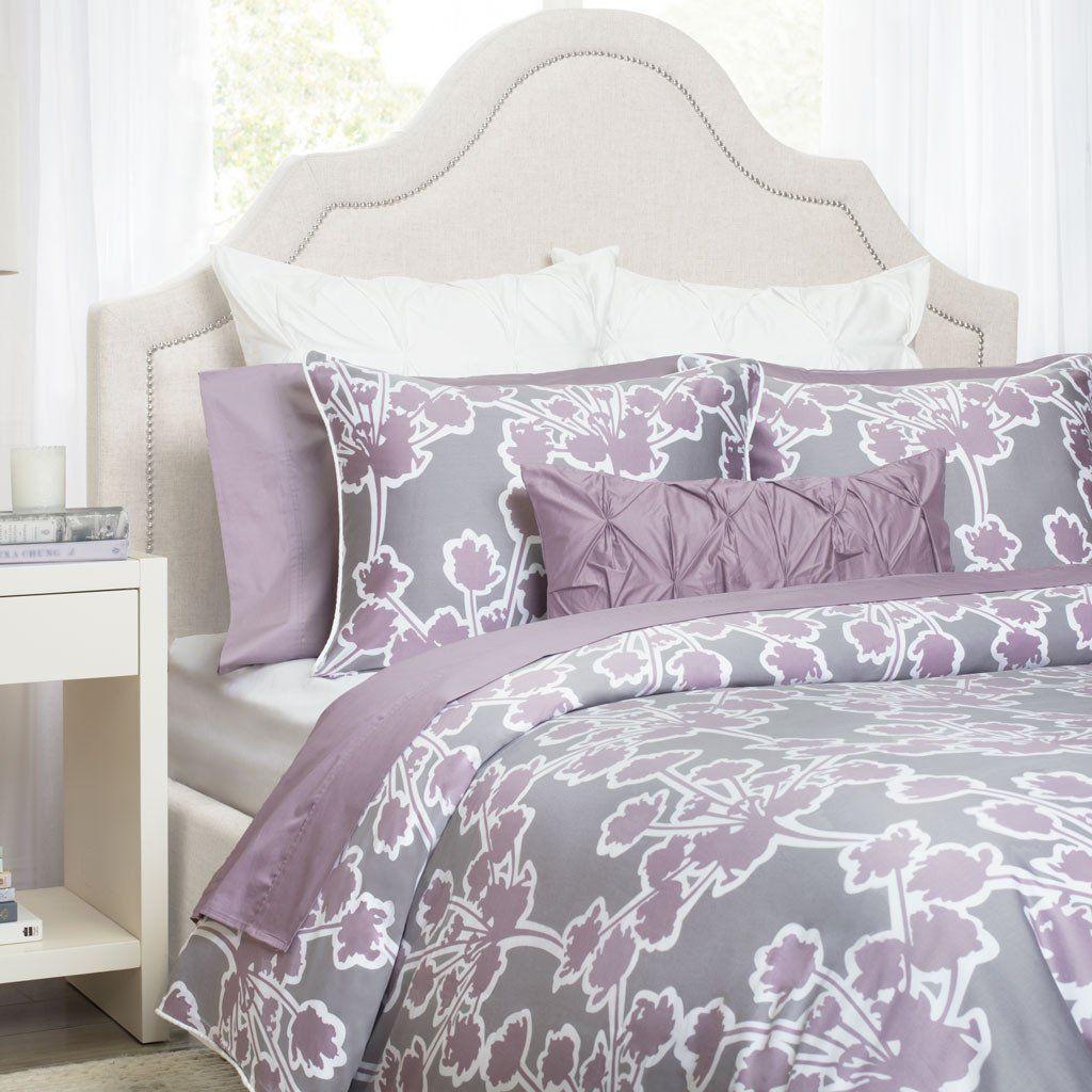 Lilac Ashbury Duvet Cover Queen Full Nova Purple Bedding