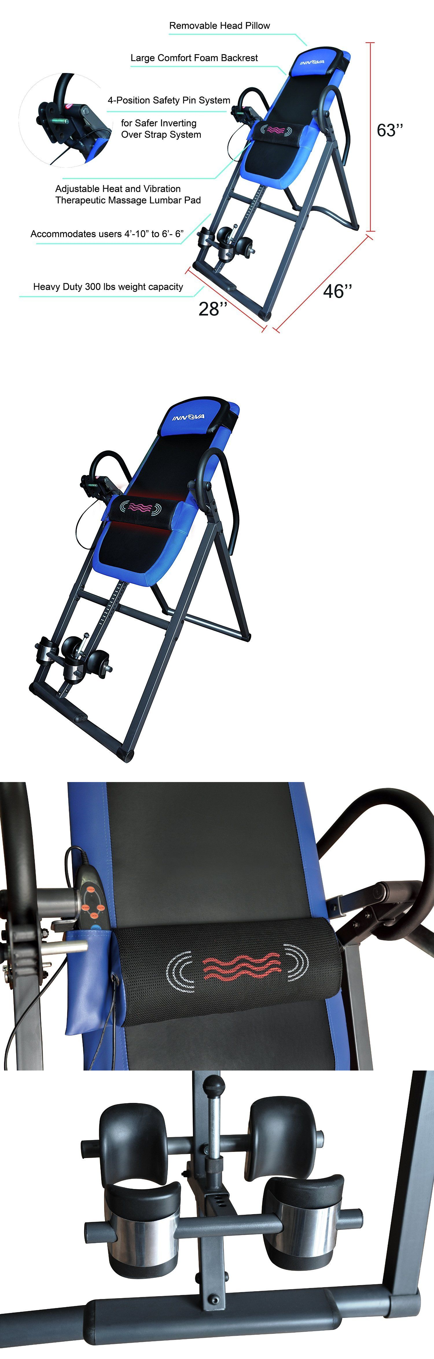 Inversion Tables 112954: Inversion Table Therapy Back Pain Relief Gravity Fitness Chiropractic Recovery BUY IT NOW ONLY: $200.99