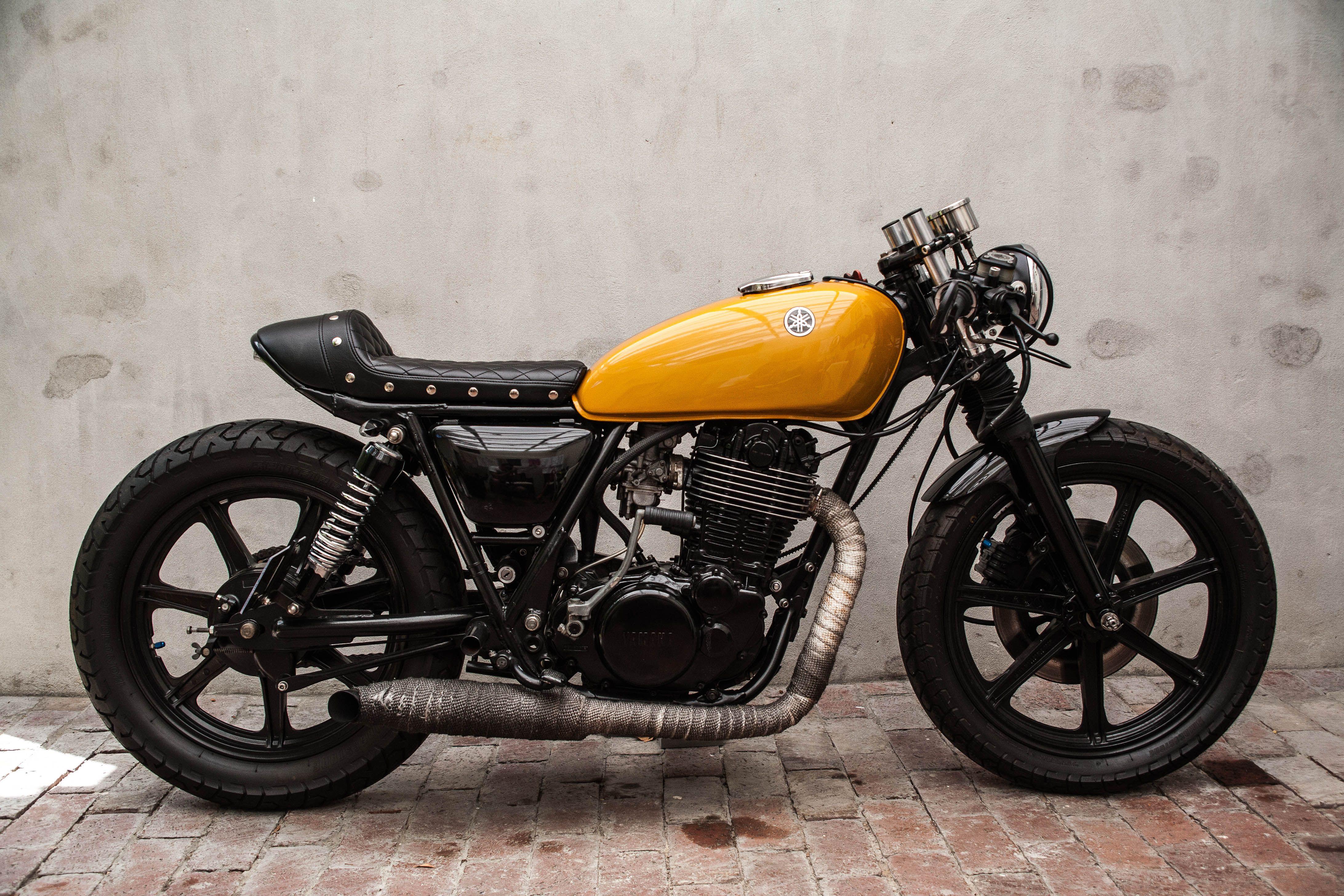 yamaha sr500 cafe' racer #yamaha #sr500 #thumper #vintage