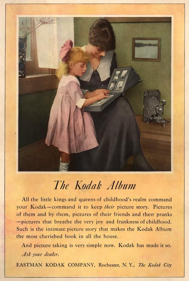 C 1910s Unknown Magazine The Kodak Album All The Little Kings