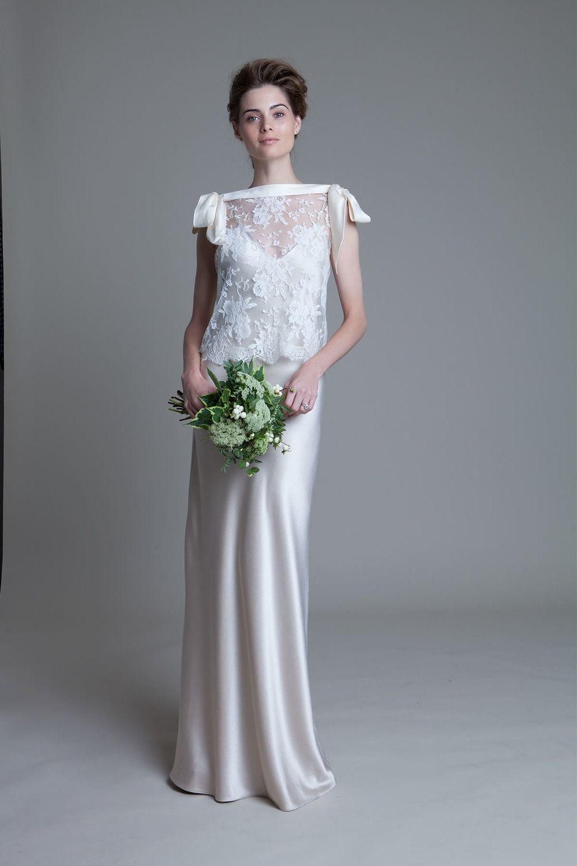 Wedding dress slip  Halfpenny London  IRENE  TRAJES NOVIA  Pinterest  Dress