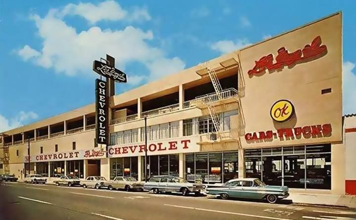 Circa 1965 Les Vogel Chevrolet 1640 Mission Street Near South