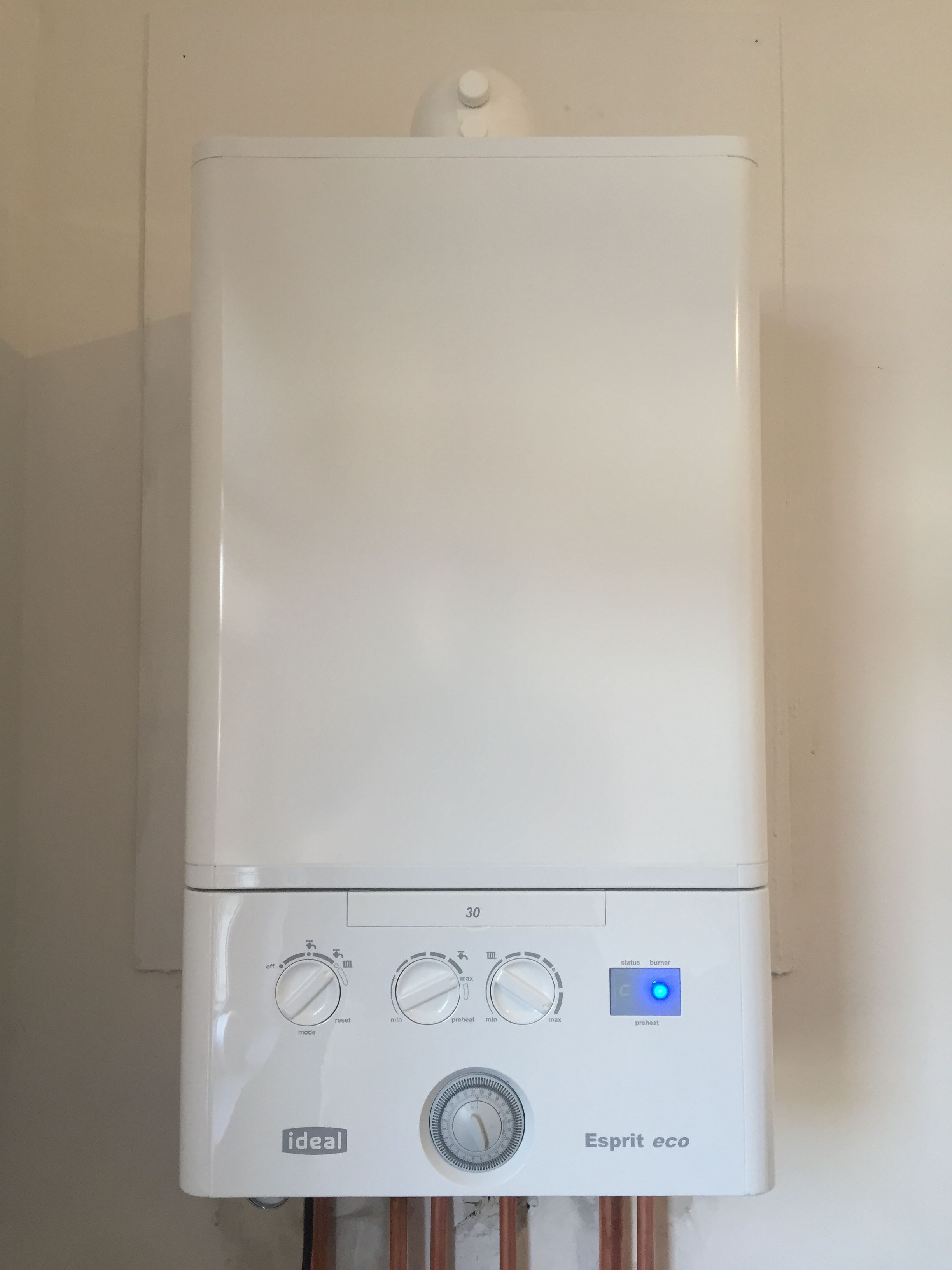 Replaced this 30 year old Glowworm with a Worcester Bosch 28Ri ...