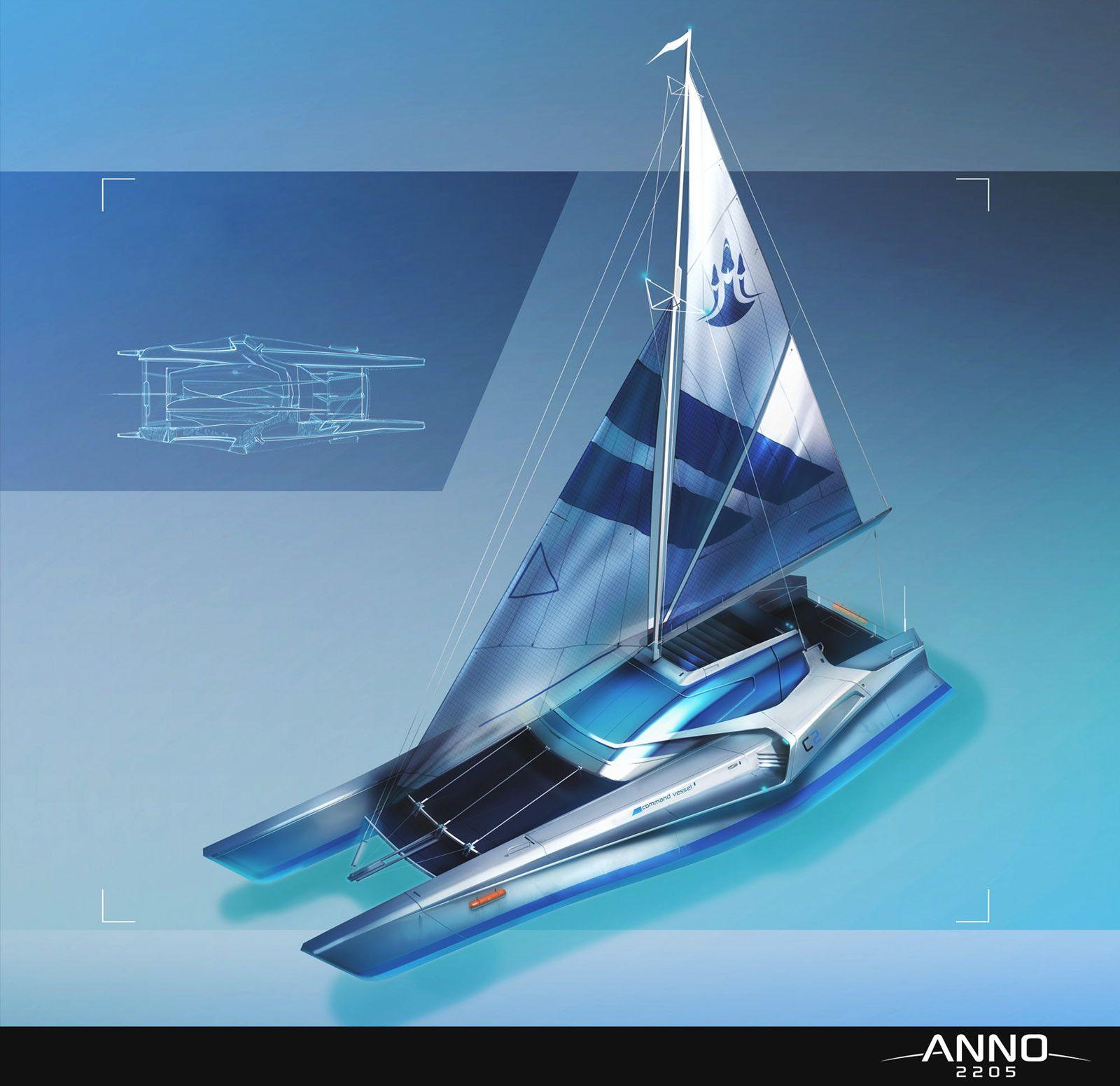 Anno 2205 - Command vessel, Andre Kieschnik